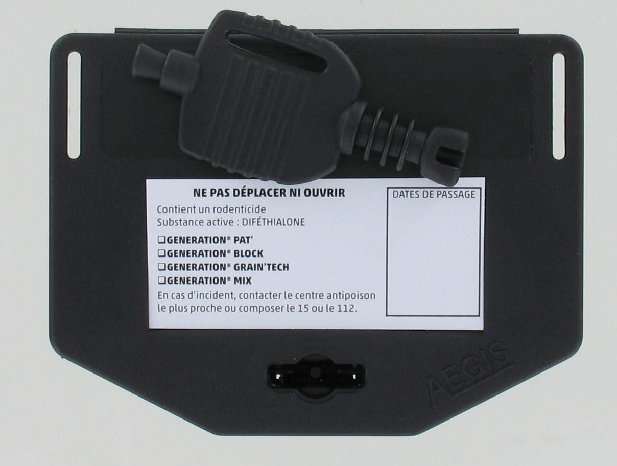 Changement d'étiquetage des postes d'appâtage suite aux nouvelles AMM